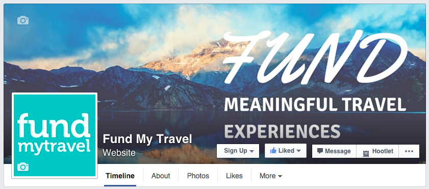 FundMyTravel Facebook