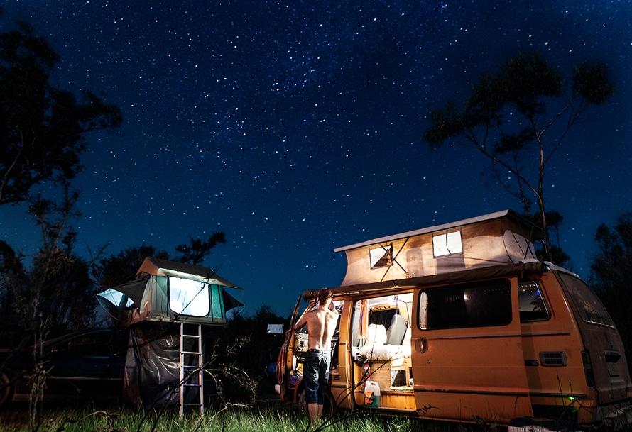 Using Free Camping