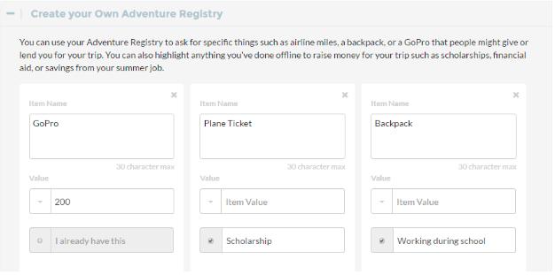 Adventure Registry