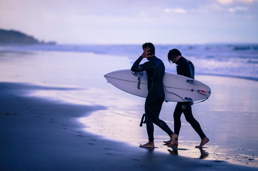 Secret Beach to Surf