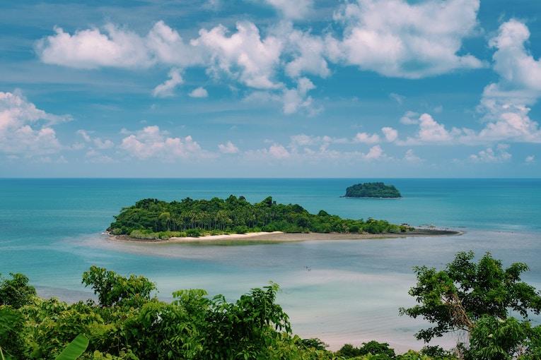 View of Ko Chang, Thailand