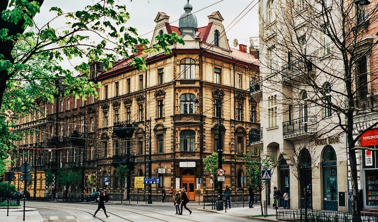 view of Krakow street