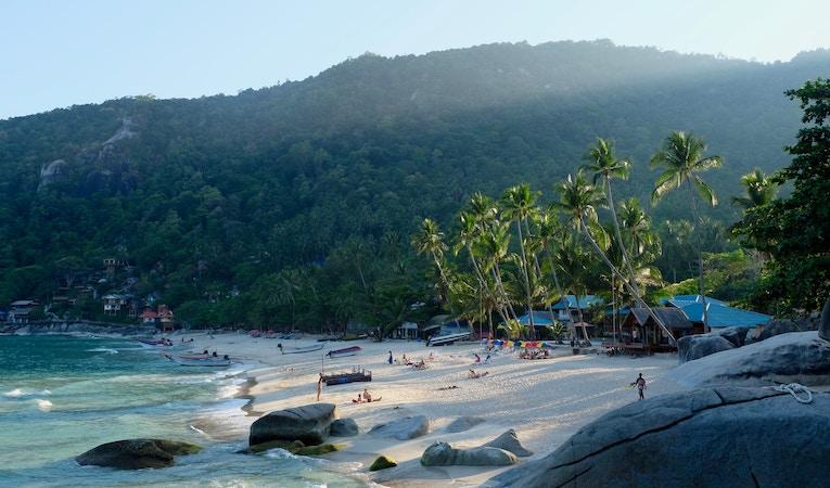 view of had yuan beach in thailand