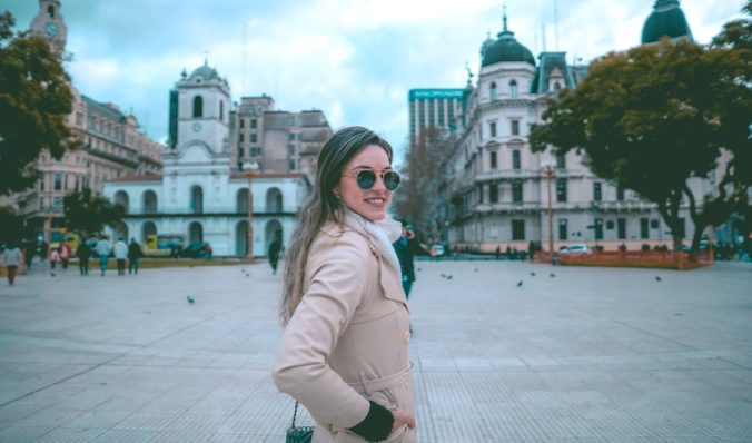 person in buenos aires